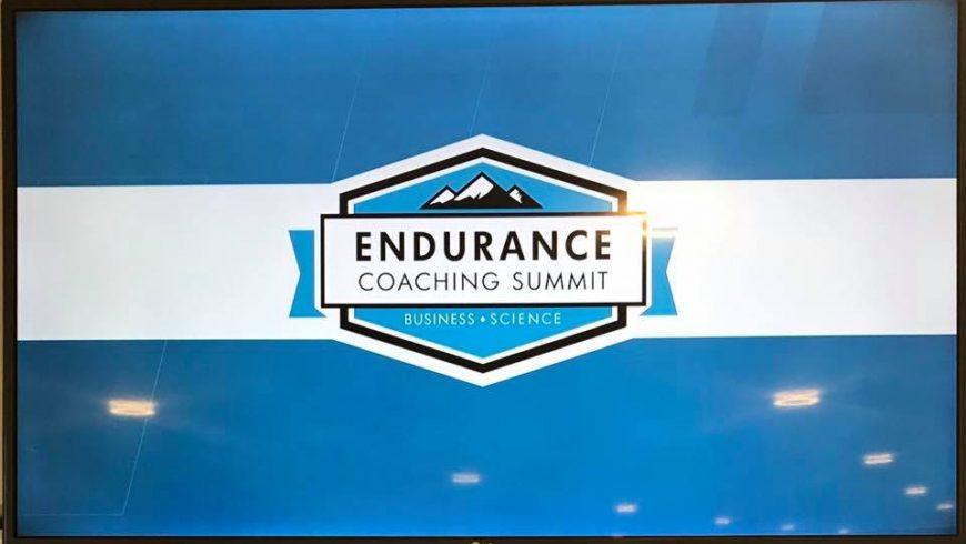 Training Peaks Endurance Coaching Summit, Manchester 2018