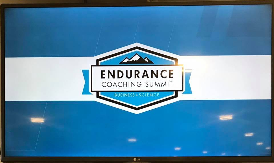 Training Peaks Endurance Coaching Summit, Manchester 2018